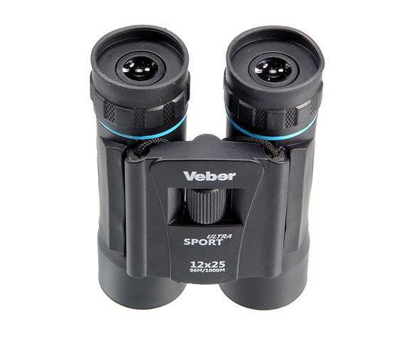 Складной корпус Veber Sport 10x25 black
