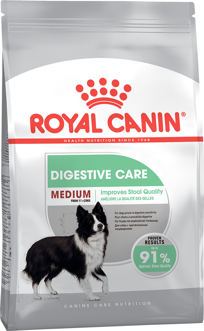 Сухой корм Корм для собак, Royal Canin Medium Digestive Care, с чувствительным пищеварением 119030.png
