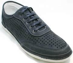Повседневные кроссовки для ходьбы по городу мужские Vitto Men Shoes 3560 Navy Blue.