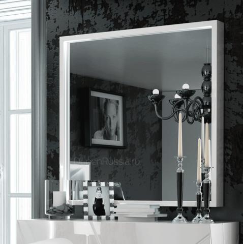 Зеркало FRANCO 1260 KIU белое