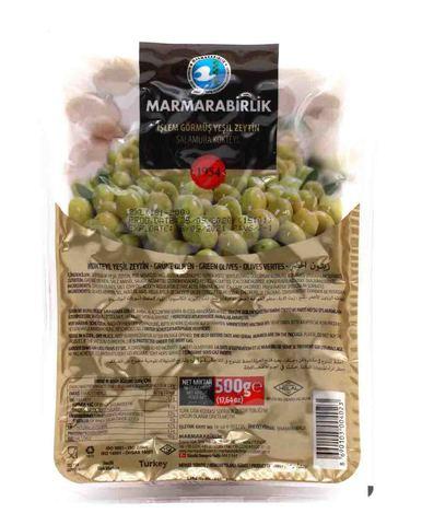 Оливки зеленые в вакууме Kokteyl 2XL, Marmarabirlik, 500