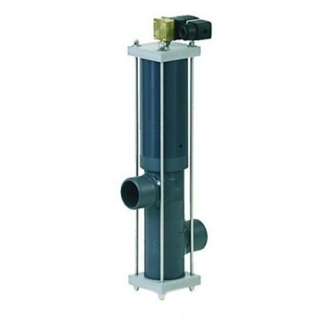 Автоматический вентиль Besgo 2-х позиционный DN 50 диаметр подключения 63 мм с электромагнитным клапаном 230В