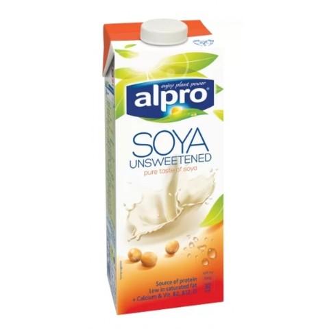 Напиток Соевый Alpro без сахара, 1 л