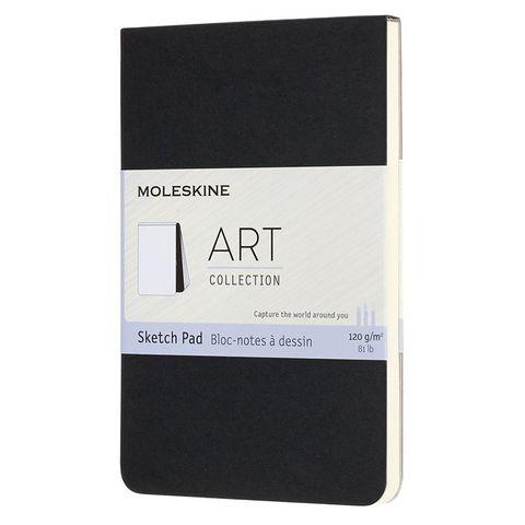 Блокнот для рисования Moleskine ART SOFT SKETCH PAD ARTSKPAD2 Pocket 90x140мм 88стр. мягкая обложка черный
