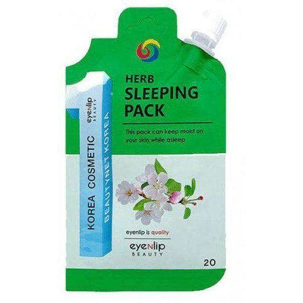 Маска для лица ночная Eyenlip Herb Sleeping Pack