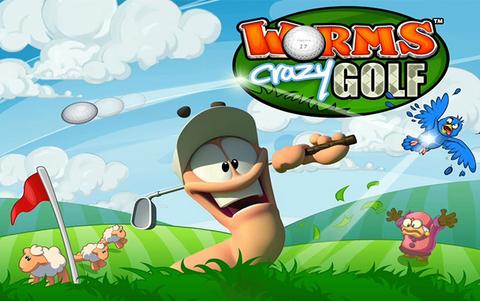 Worms Crazy Golf (для ПК, цифровой ключ)