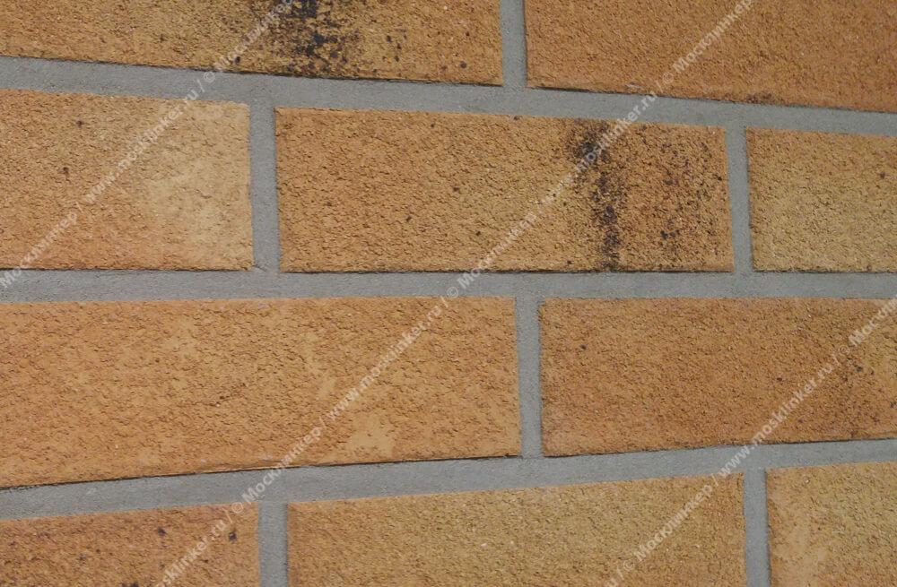 Roben - Manus, Tonga carbon, NF14, 240x14x71 - Клинкерная плитка для фасада и внутренней отделки