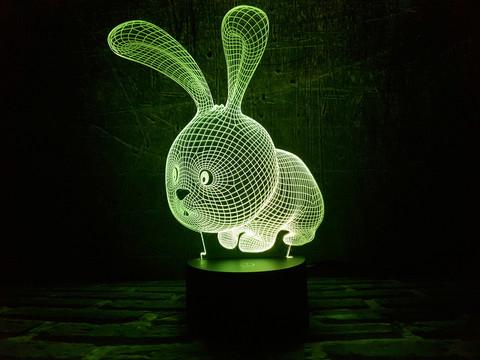 Лампа Зайчик - ушастик