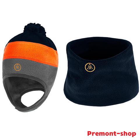 Шапка и шарф-снуд Premont WP92867 BLACK