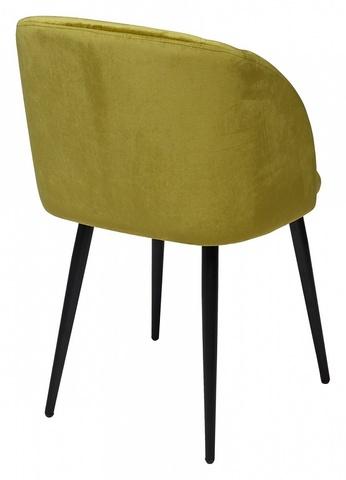 Стул YOKI олива, велюр G062-17 М-City (обеденный, кухонный, для гостиной), Материал каркаса: Металл, Цвет каркаса: Чёрный, Материал сиденья: Ткань, Цвет сиденья: Оливковый, Цвет: Зеленый