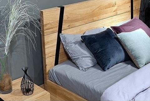 Кровать Рива Модерн (натуральный дуб)