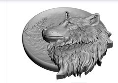 Силиконовый молд  Волк № 0484