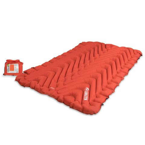 Надувной коврик Klymit Insulated Double V, оранжевый