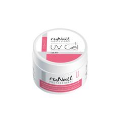 ruNail, Однофазный UV-гель, прозрачный, 15 г