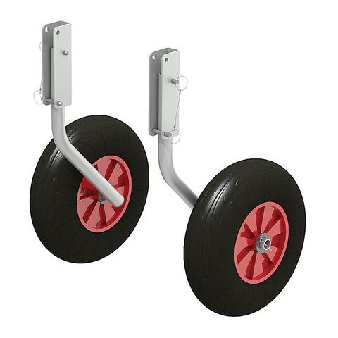 Комплект колес транцевых 260 мм Zn