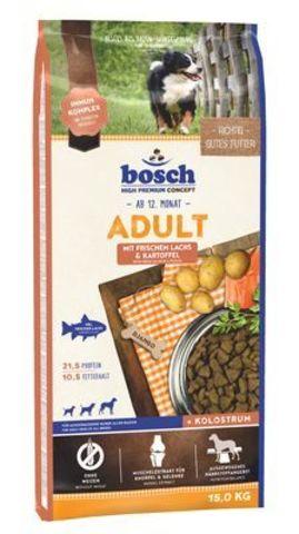 Бош Корм д/собак Эдалт Рыба+картофель 15кг