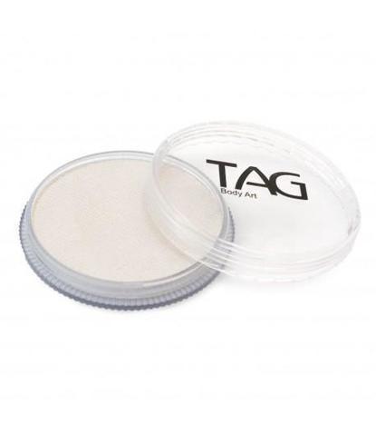 Аквагрим TAG 32гр перламутровый белый