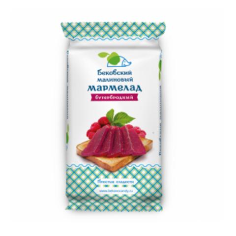 Бековский малиновый бутербродный мармелад 270 грамм