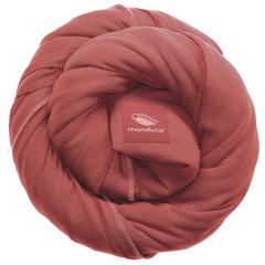 Трикотажный слинг-шарф manduca rouge (коралловый)
