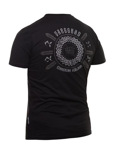 Футболка Варгградъ мужская чёрная «Шлемы эйнхериев»
