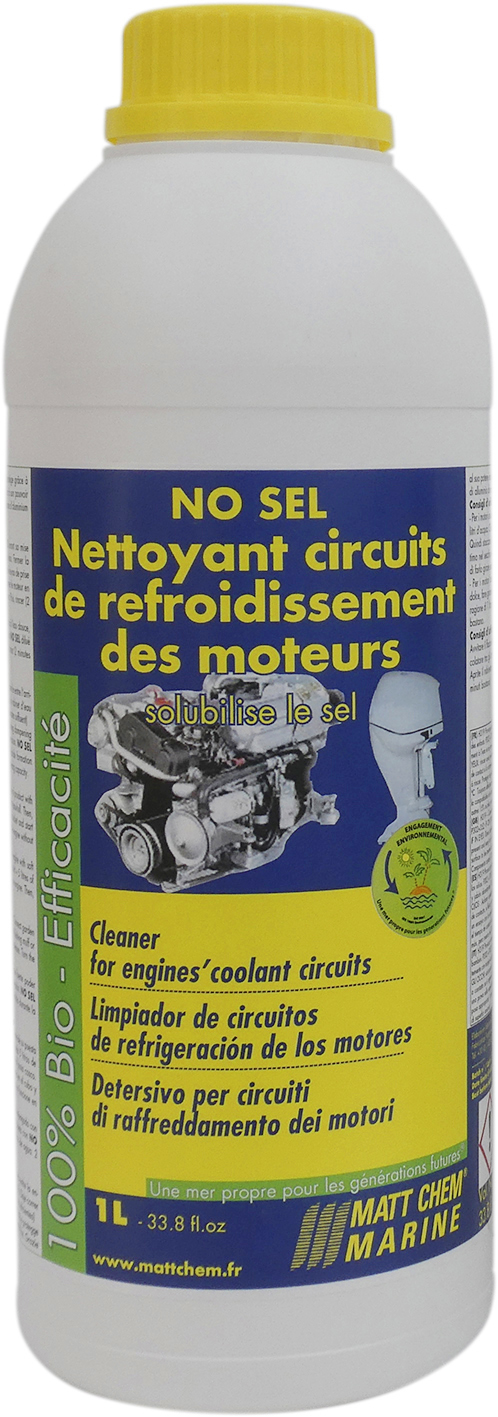 Concentrated cleaning coolant circuits No Sel