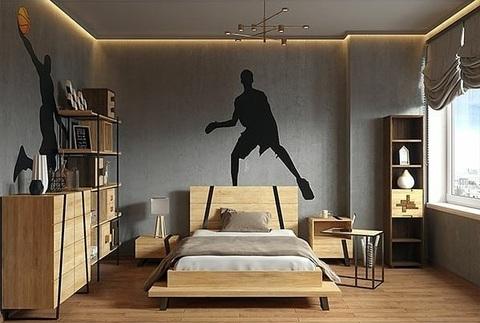 Спальня Рива Модерн 3 (натуральный дуб)
