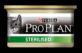 Влажные корма Консервы Purina Pro Plan STERILISED, для стерилизованных кошек и кастрированных котов, с тунцом и лососем 45a9ded88f18ecee47145a72c0.png