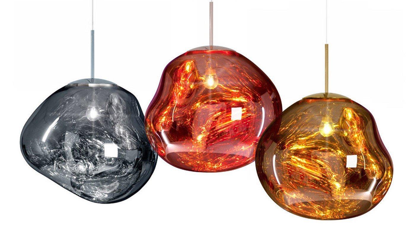 Подвесной светильник копия MELT by Tom Dixon (золотой)
