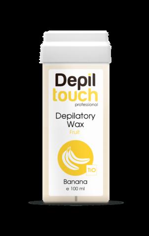 Теплый воск Depiltouch с ароматом банана, 100 мл