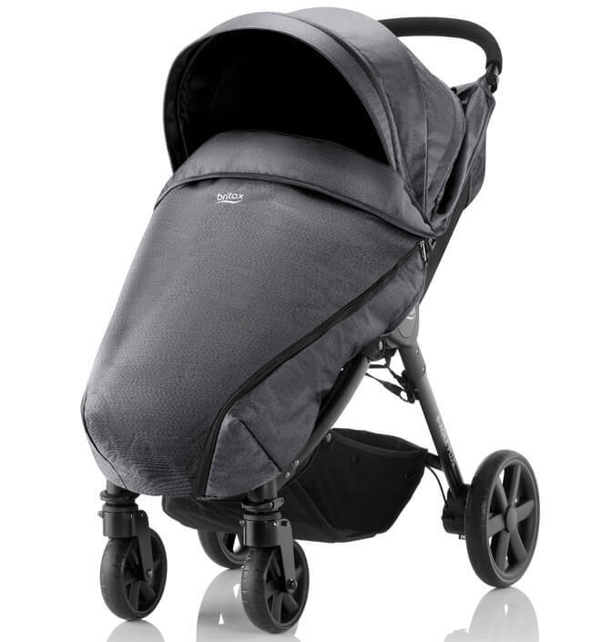 Britax B-Agile 4 Plus Прогулочная коляска Britax B-Agile 4 Plus Black Denim 6005925451__1_.jpg