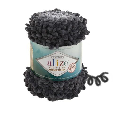 Купить Пряжа Ализе Пуффи Файн Омбре Батик - цвет 7259 | Интернет-магазин пряжи «Пряха»