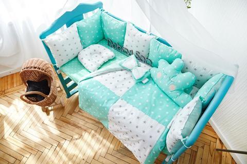 Комплект постельного белья Облачко