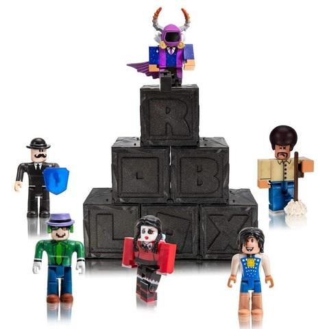 Роблокс Тайный набор из 6 штук, серия 7 Чёрные