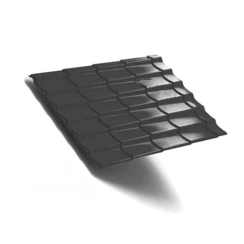 Металлочерепица Ламонтерра VikingMP RAL 7024 0,5 мм
