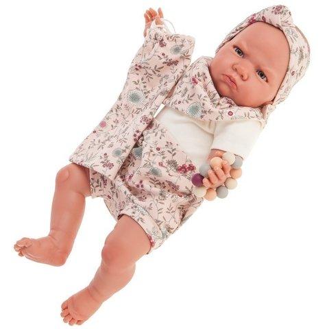 Munecas Antonio Juan Кукла-младенец Reborn Каталина в розовом 52см (8161)