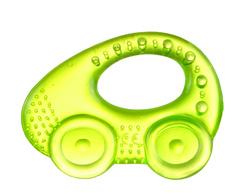 Canpol babies. Прорезыватель водный охлаждающий Автомобиль, 0+, желтый