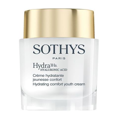 Sothys Hydrating Youth Hydra3Ha: Обогащенный увлажняющий крем для лица (Comfort Hydra Youth Cream)