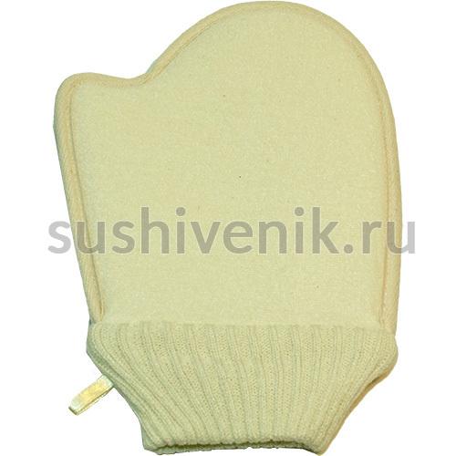 Мочалка в форме рукавицы