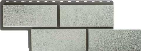 Фасадная панель Альта Профиль Камень неаполитанский Белый 1250х450 мм
