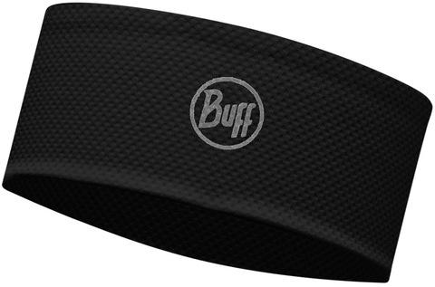 Быстросохнущая повязка Buff Fastwick Headband R-Solid Black фото 1