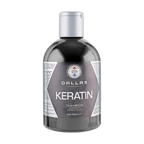 Dallas Шампунь KERATIN с Кератином и молочными протеинами, 500 мл.