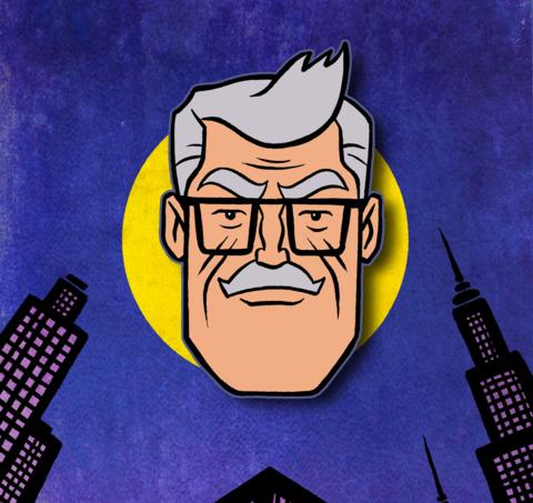 Пин Комиссар Гордон (Бэтмен 1992)