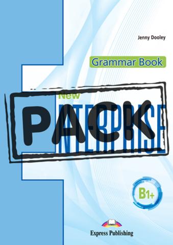 NEW ENTERPRISE B1+ Grammar Book with digibook app. Сборник грамматических упражнений (с ссылкой на электронное приложение)
