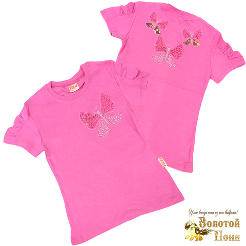 Блуза хлопок девочке (6-12) 210609-SH54080