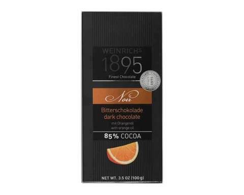 Горький шоколад с апельсином Weinrichs 1895, 100 г