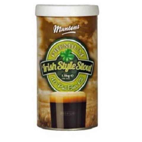 Пивной набор Muntons Premium Irish style stout, 1,5 кг на 23 л