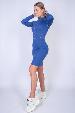 Платье оверсайз до колена купить