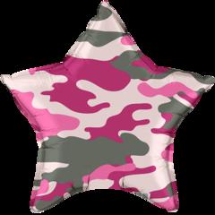 Р Звезда, Камуфляж, Розовый, 18