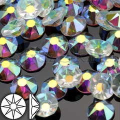 Стразы клеевые холодной фиксации прозрачные Transparent AB Xirius