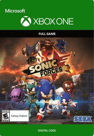 SONIC FORCES: стандартное издание (Xbox One/Series S/X, цифровой ключ, русская версия)